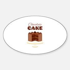 Chocolate Cake Decal