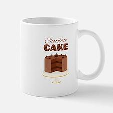 Chocolate Cake Mugs