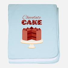 Chocolate Cake baby blanket