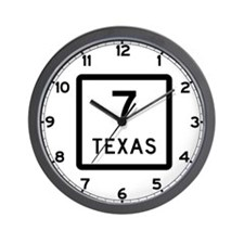 State Highway 7, Texas Wall Clock