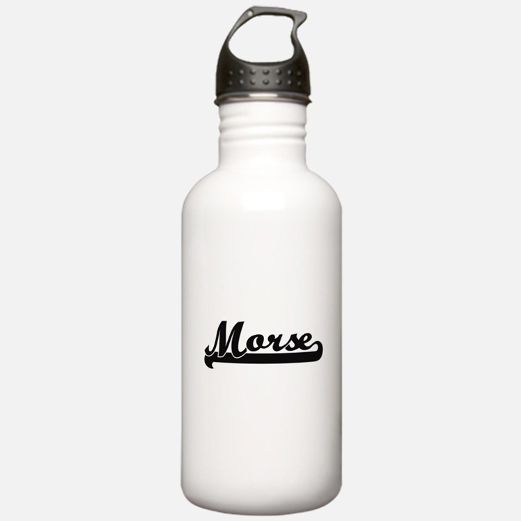 Morse surname classic Water Bottle