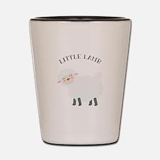 Little Lamb Shot Glass