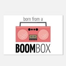 Born from a Boombox Postcards (Package of 8)