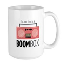 Born from a Boombox Mugs