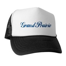 Grand Prairie (cursive) Trucker Hat