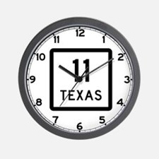 State Highway 11, Texas Wall Clock