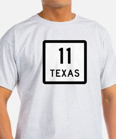 State Highway 11, Texas T-Shirt