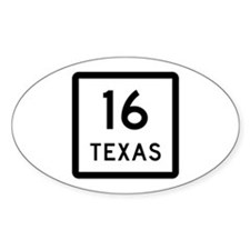 State Highway 16, Texas Decal