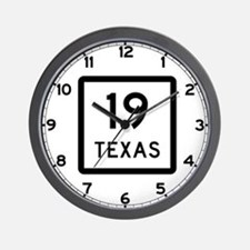 State Highway 19, Texas Wall Clock
