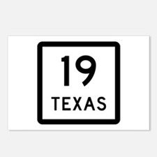 State Highway 19, Texas Postcards (Package of 8)