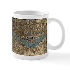 Vintage Map of London England (1860) Mugs