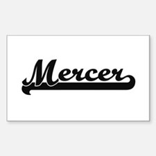 Mercer surname classic retro design Decal