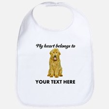 Personalized Goldendoodle Bib