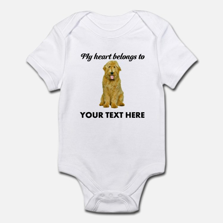 Personalized Goldendoodle Infant Bodysuit