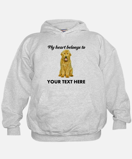 Personalized Goldendoodle Hoody