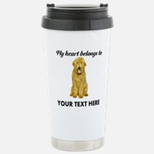 Personalized Goldendood Stainless Steel Travel Mug