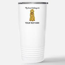 Personalized Goldendood Travel Mug