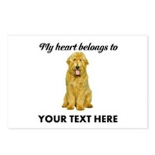 Personalized Goldendoodle Postcards (Package of 8)
