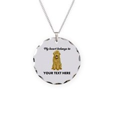 Personalized Goldendoodle Necklace