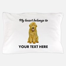 Personalized Goldendoodle Pillow Case