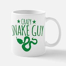 Crazy Snake Guy Mugs