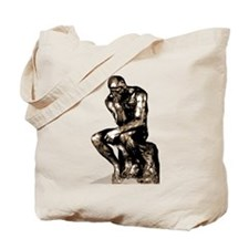 Rodin Thinker Remake Tote Bag