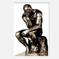 Rodin Thinker Remake Postcards (Package of 8)
