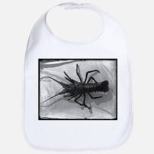 Lobster Black and White Photograph Bib