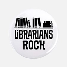 Librarian Book Gift Idea Button