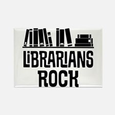 Librarian Book Gift Idea Magnets