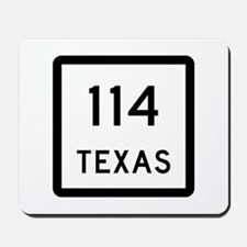 State Highway 114, Texas Mousepad