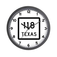 State Highway 118, Texas Wall Clock