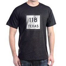 State Highway 118, Texas T-Shirt