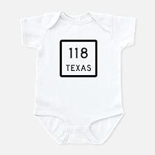 State Highway 118, Texas Infant Bodysuit
