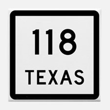 State Highway 118, Texas Tile Coaster