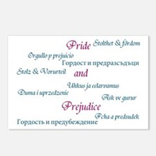 Pride and Prejudice Postcards (Package of 8)