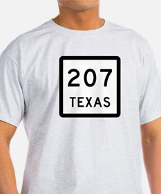 State Highway 207, Texas T-Shirt