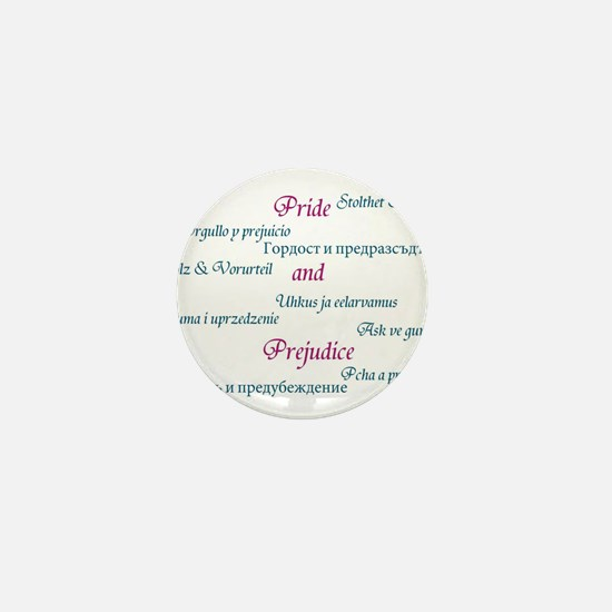 Pride and Prejudice Mini Button