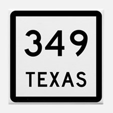 State Highway 349, Texas Tile Coaster