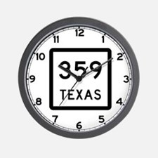 State Highway 359, Texas Wall Clock