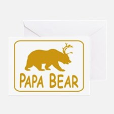 Papa Bear Greeting Cards
