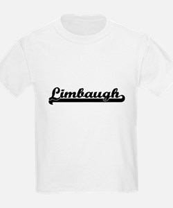 Limbaugh surname classic retro design T-Shirt