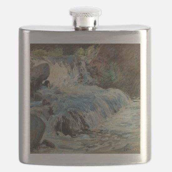 Waterfall by Twachtman Flask