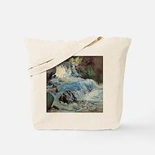 Waterfall by Twachtman Tote Bag