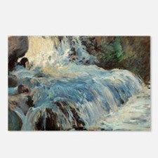 Waterfall by Twachtman Postcards (Package of 8)