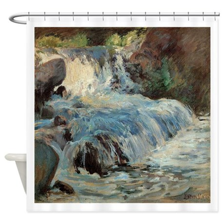 Waterfall By Twachtman Shower Curtain