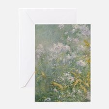 Meadow Flowers by Twachtman Greeting Card