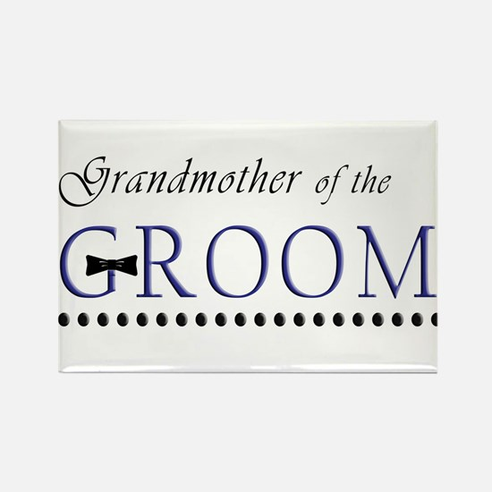 Grandmother of the Groom Rectangle Magnet