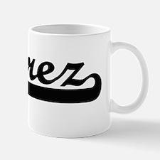 Juarez surname classic retro design Mug