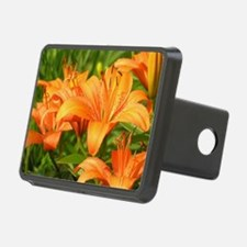 Orange Tiger Lilies Hitch Cover